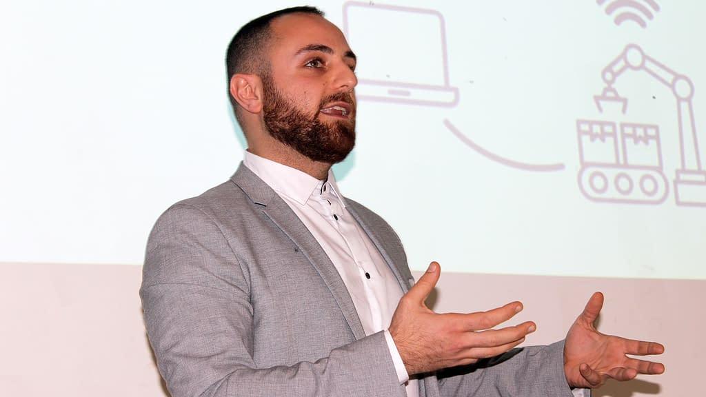 Jack Nikogosian, ARYZE CEO at Danish AM Summit 2018