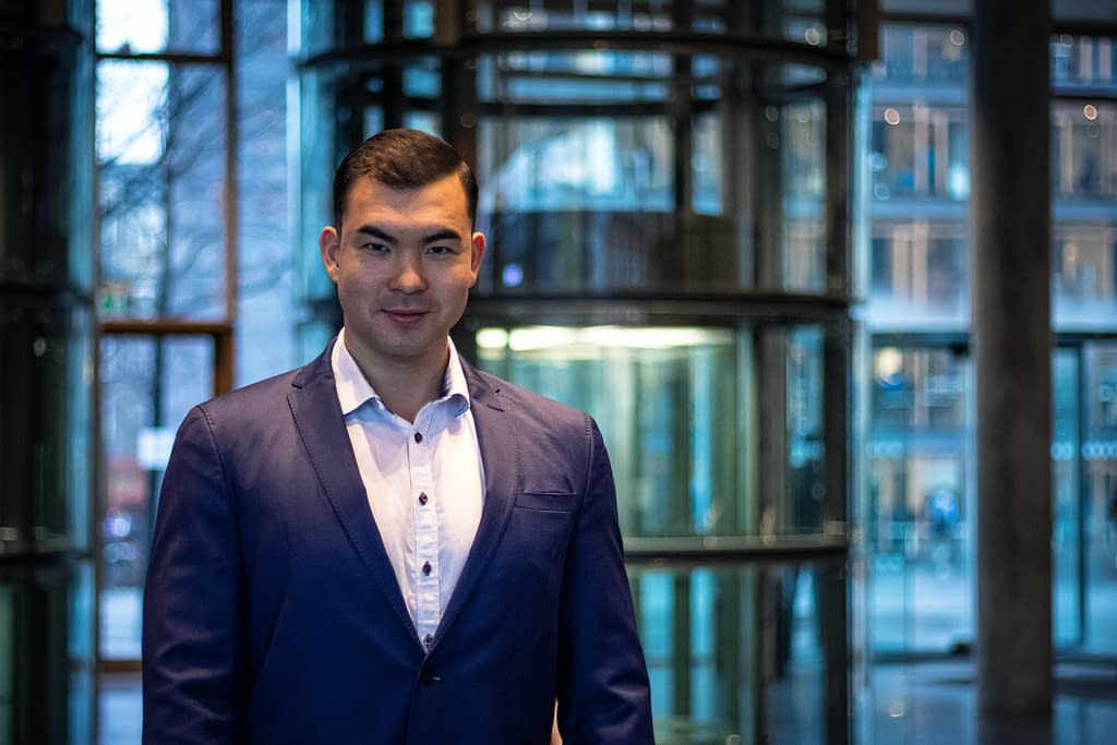 Dan Taki CEO of Nordic Blockchain Association