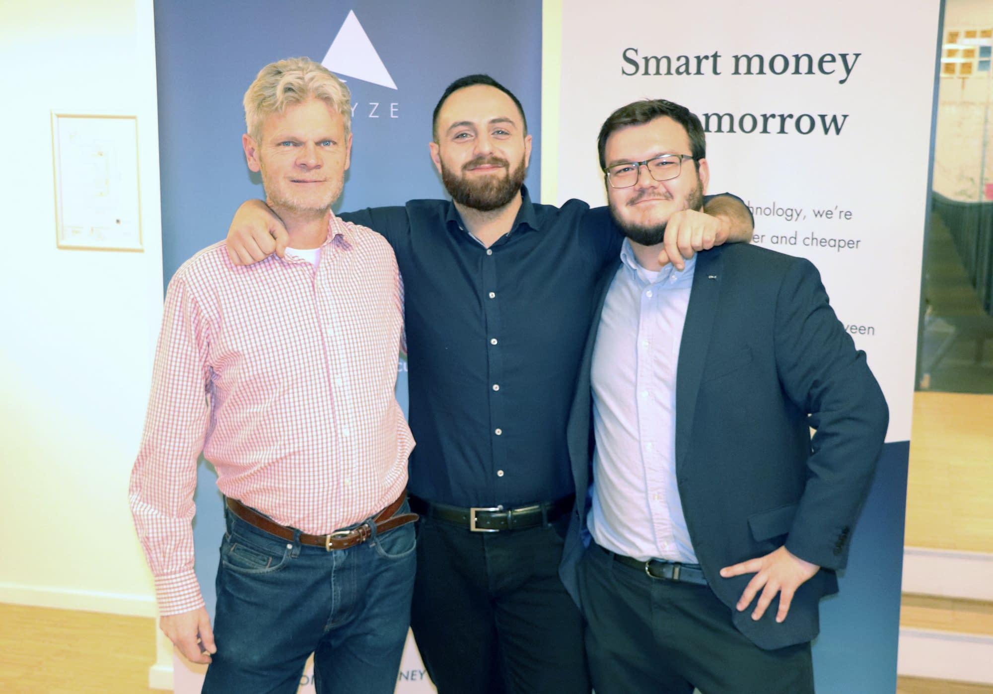 ARYZE Founders (left to right): Morten Nielsen, Jack Nikogosian, Carl Jenster